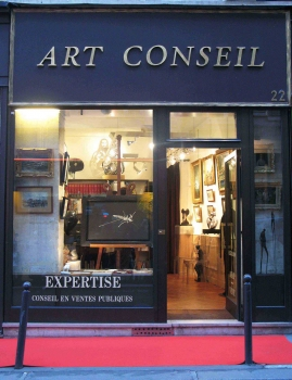 {Paris Expert d'art} Art Conseil - Galerie d'art à Paris